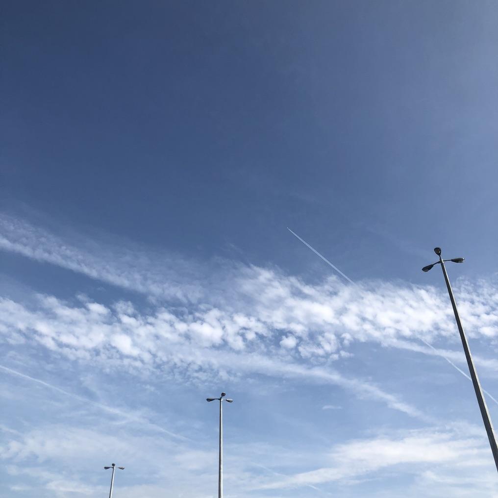 明朗的天空